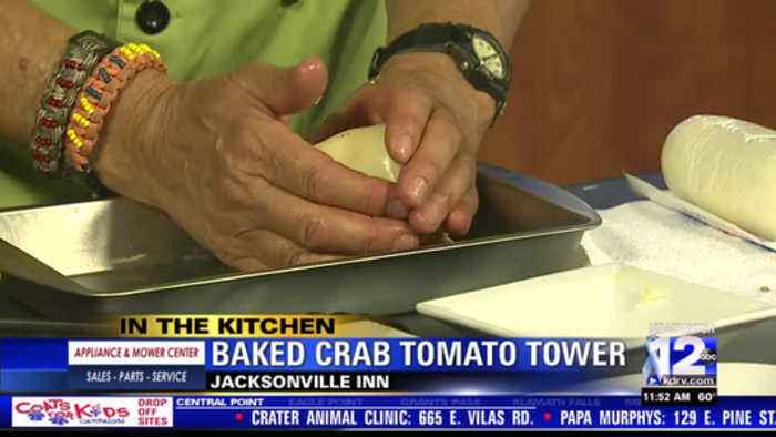 In the Kitchen: Baked Crab Tomato Tower