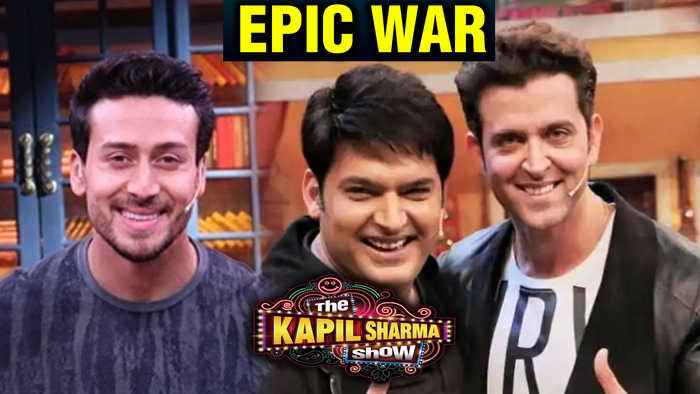 The Kapil Sharma Show | Hrithik Roshan Tiger Shroff FUNNY WAR With Kapil And Krushna