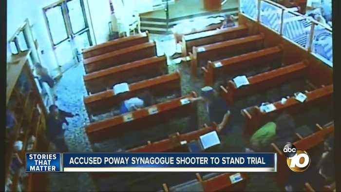 Accused Poway synagogue shooter to stand trial