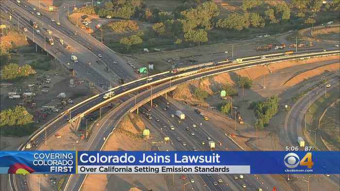 Colorado Joins 22 States In Emission Standards Lawsuit