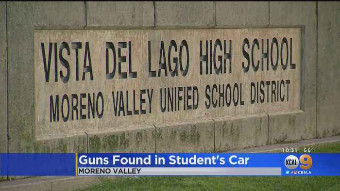 A Brawl? Bullying? A Student Is Arrested For Having Guns At High School In Moreno Valley