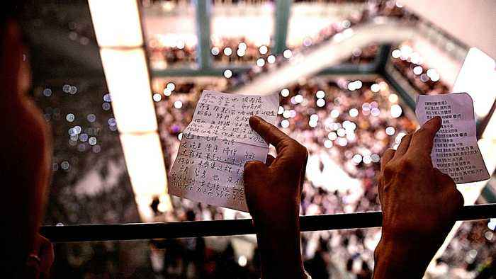 'Glory to Hong Kong': Music galvanising protest movement