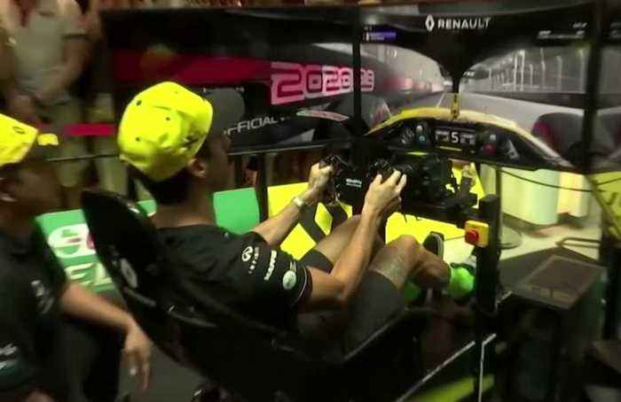Renault's Ricciardo beaten in F1 virtual racing game by 13-year-old