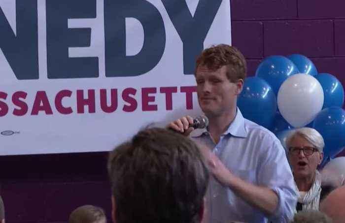 Joe Kennedy III launches campaign for U.S. Senate seat