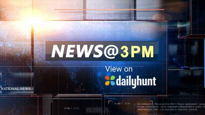 NEWS @ 3 PM, SEPTEMBER 22nd
