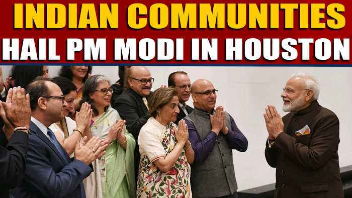 PM Modi meets Sikhs, Bohra And Kashmiri Pandit Communities In Houston |OneIndia News