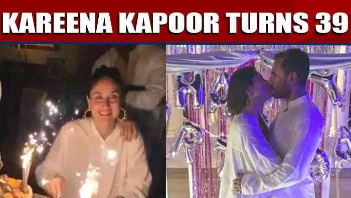 Kareena kapoor turns 39, sister Karishma shares glimpses from kareena's birthday |OneIndia News