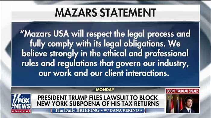 President Trump Files Lawsuit To Block New York Subpoena Of Tax Returns [VIDEO]