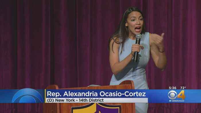 Hundreds Gather In Boulder To Hear Congresswoman Alexandria Ocasio-Cortez