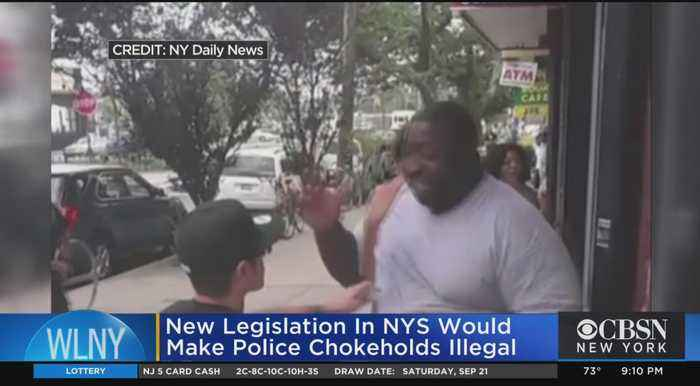 New Push For Chokehold Law In New York