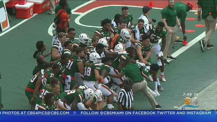 Canes Escape With Win Over Central Michigan