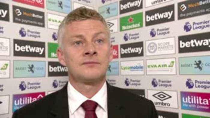 Solskjaer: We have to work through this