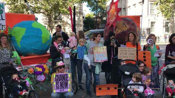 Climate Activists Block Traffic In Washington D.C.