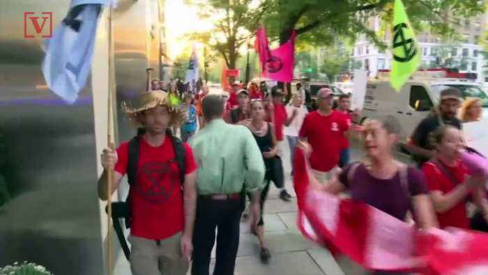 Climate Change Activists Create Gridlock in DC as UN Meets for Climate Summit