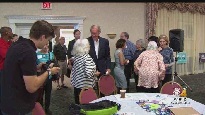 Joe Kennedy, Ed Markey Hit Campaign Trail For Senate Seat