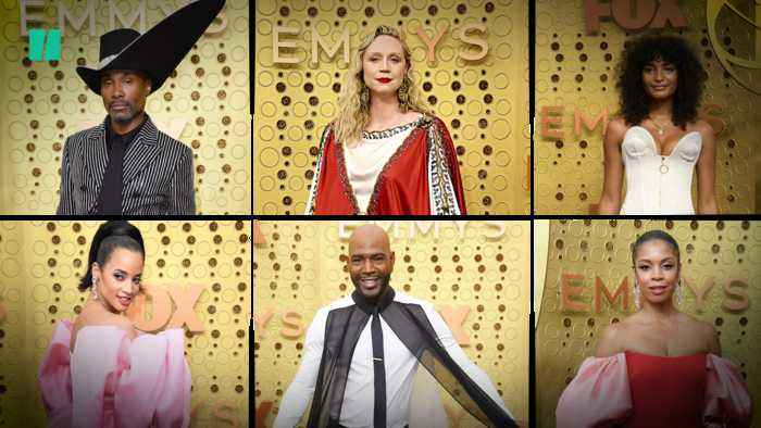71st Primetime Emmy Awards Red Carpet Fashion Gets Dramatic
