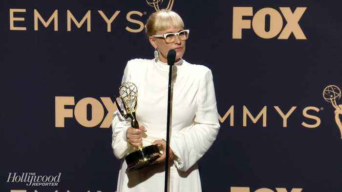 Patricia Arquette Talks Her Emotional Acceptance Speech On Trans Rights | Emmys 2019