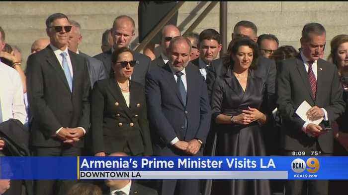 Armenian President Visits Los Angeles