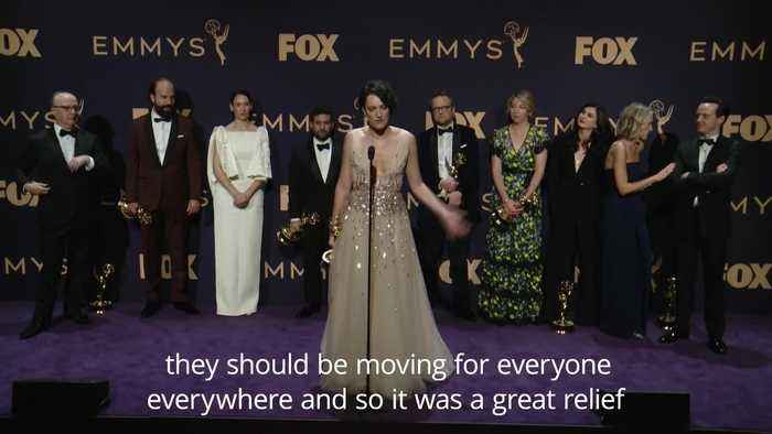 Three Emmys a 'beautiful' way for Fleabag to end - Waller-Bridge