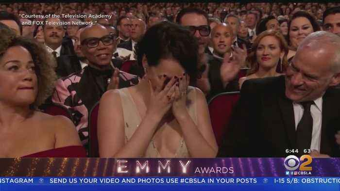 History Is Made, Surprises Ensue At Emmy Awards