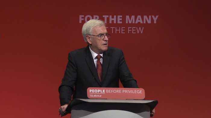 John McDonnell sets out plan for 32-hour working week