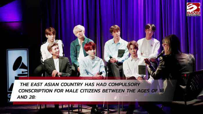 BTS must do military service in South Korea