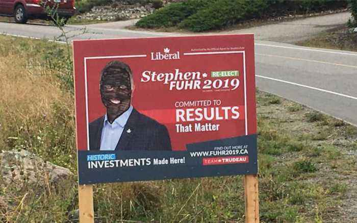 The Ugly Signs Of Canada's Election Campaign