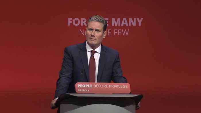 Starmer promises second Brexit referendum if Labour wins election