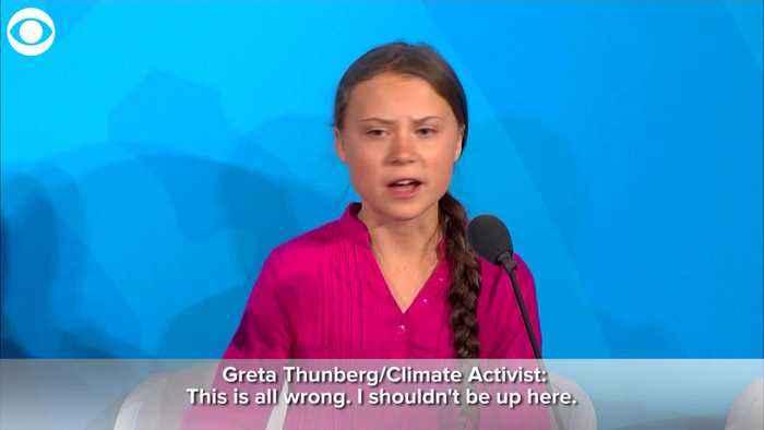 WEB EXTRA: Greta Thunberg Speaks At Climate Summit