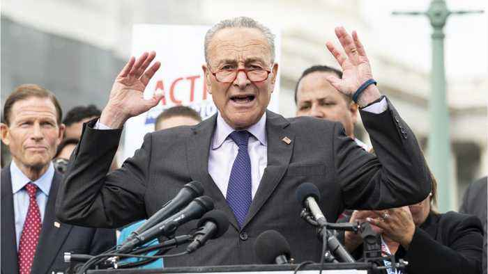 Chuck Schumer Writes Letter To Mitch McConnell