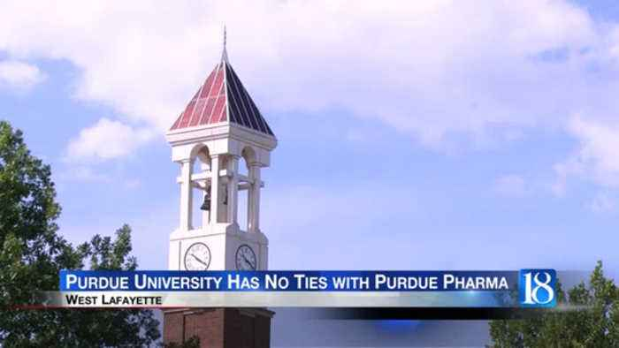 Purdue University wants to remind the public they are not affiliated with Purdue Pharma