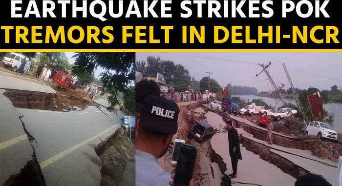 Earthquake strikes PoK, tremors felt in Delhi-NCR