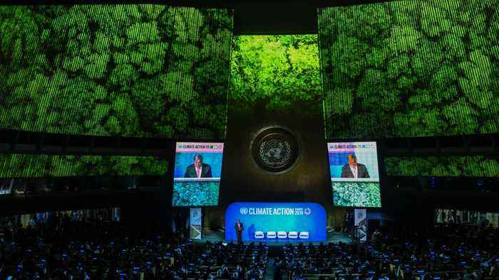 World Leaders Rebuked For 'Empty Words' At U.N. Climate Summit