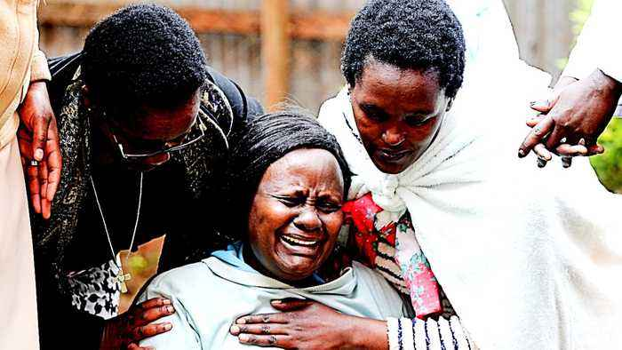 Kenya school collapse: 7 dead, scores wounded in Nairobi