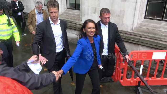 Gina Miller spotted leaving Supreme Court after parliament prorogation ruled unlawful