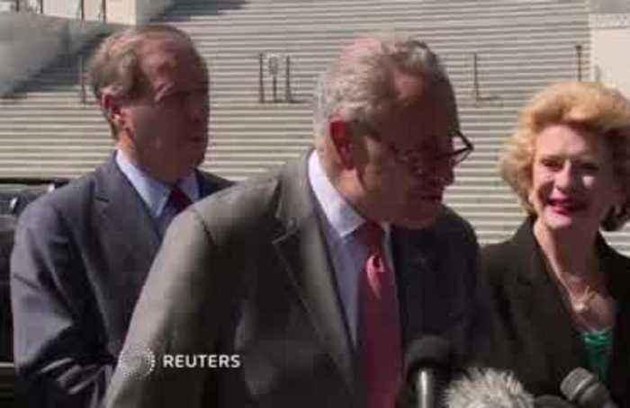 Schumer demands IG report on whistleblower to Congress