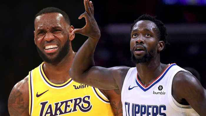 Patrick Beverly Got In Lebron's Face After Lakers LOST to Clippers In Kawhi Signing