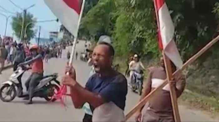 Indonesia urges against Papua unrest amid pro-freedom protests