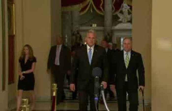 McCarthy says Pelosi does not 'speak for America'