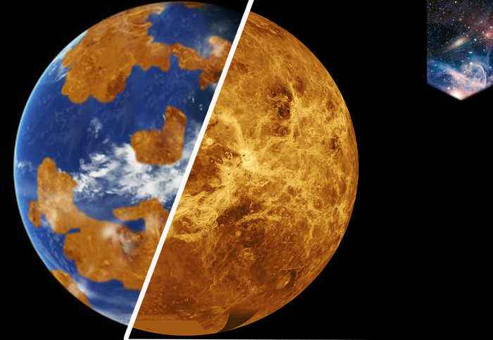 Venus was Earth-like until climate disaster turned it into hell planet