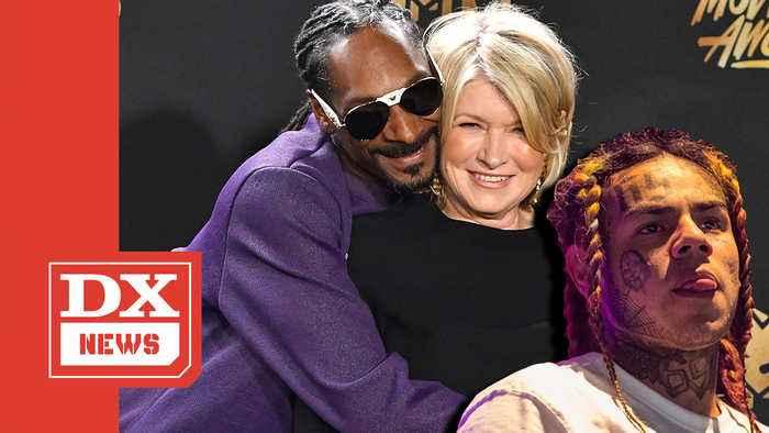 Snoop Dogg Compares Martha Stewart's Gangsta To Tekashi 6ix9ine's
