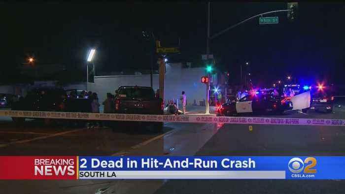 2 Dead Following Hit-And-Run In South LA