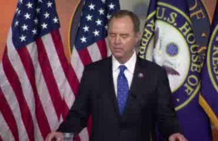 Schiff condemns Trump call as 'mafia-like shakedown'