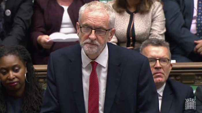 Jeremy Corbyn calls Boris Johnson a 'dangerous Prime Minister'