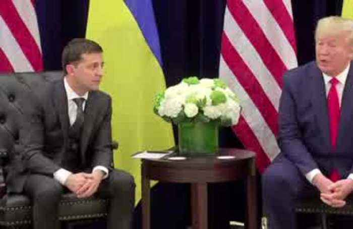 Trump says Ukraine president 'made progress' on Russia