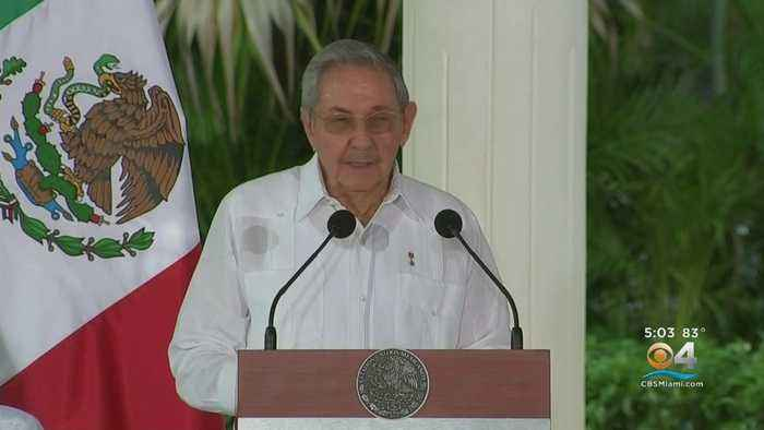 Travel Ban Imposed On Former Cuban Leader Raul Castro