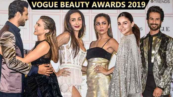 Sara -Vicky's HUG, Sizzling Malaika, Alia - Shahid | Vogue Beauty Awards 2019 FULL Event | UNCUT