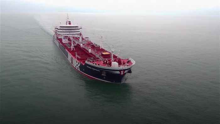 Seized British-flagged tanker 'preparing for depature' from Iran