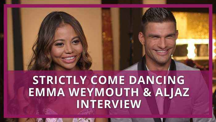 Strictly Come Dancing: Emma Weymouth & Aljaz Interview