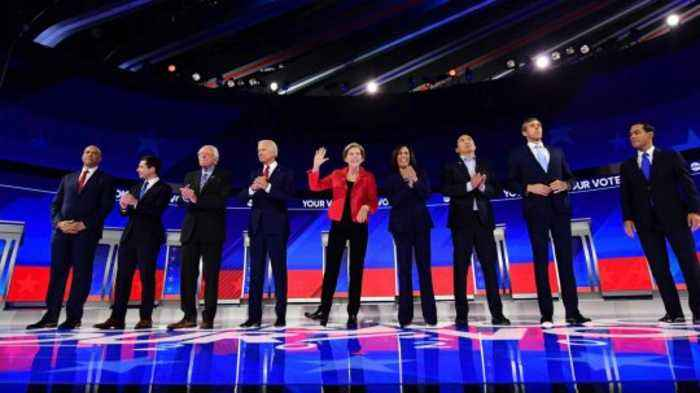 Crowded Stage! Next Democratic Debate Will See a Dozen Candidates on Same Night